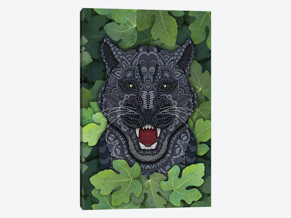 Jungle Panther by Angelika Parker 1-piece Canvas Wall Art