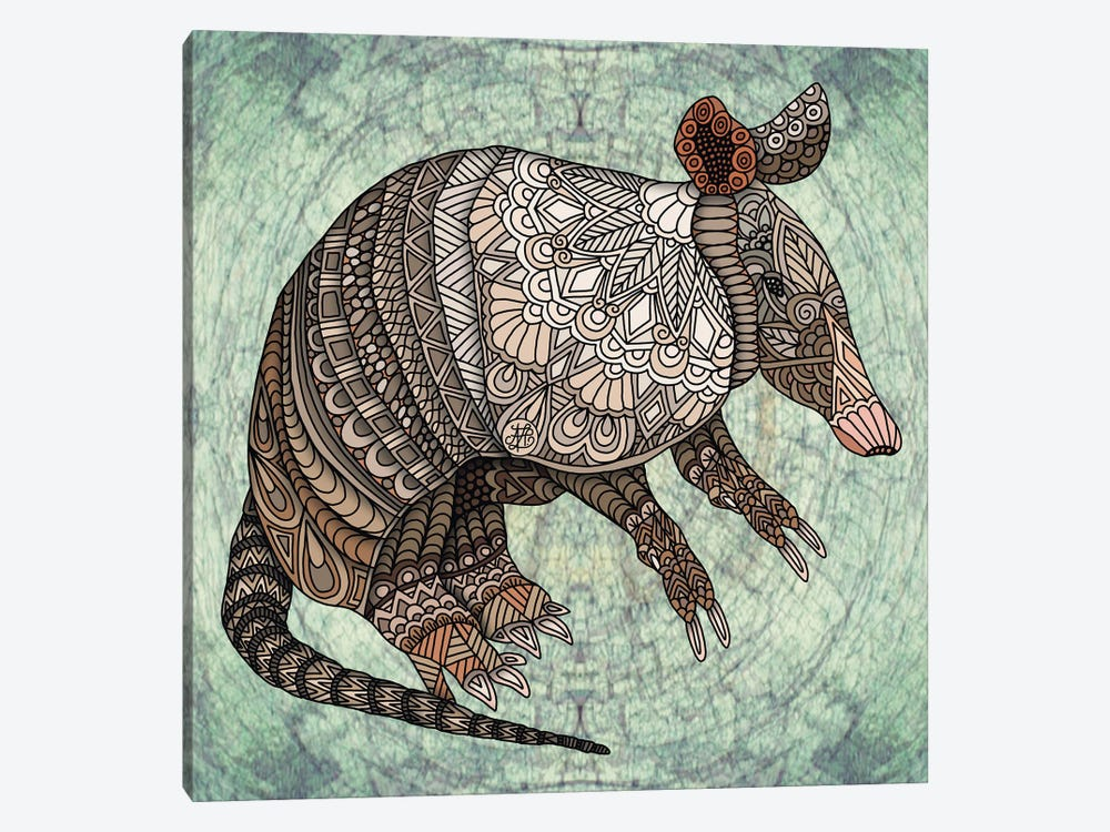 Armadillo by Angelika Parker 1-piece Canvas Wall Art