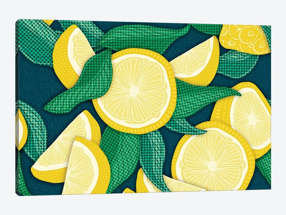 Pop Art Lemons by Angelika Parker 1-piece Art Print