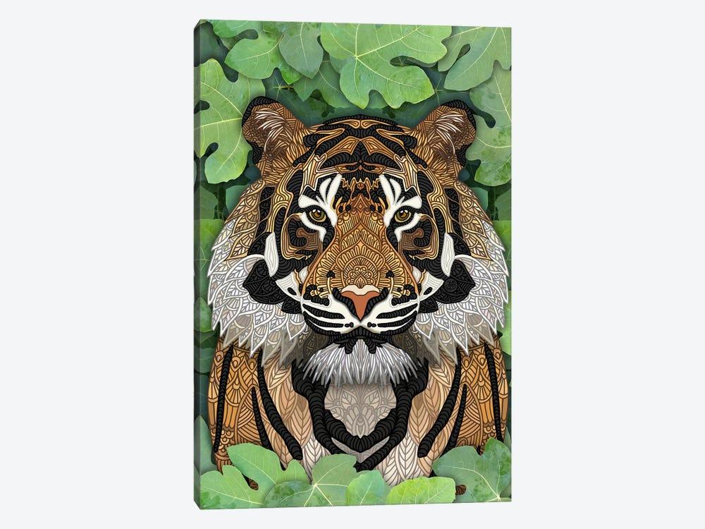Jungle Tiger by Angelika Parker 1-piece Canvas Artwork