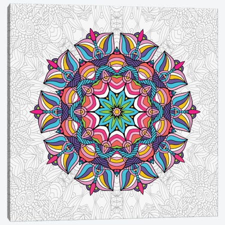 Art Love Passion - Mandala Canvas Print #ANG2} by Angelika Parker Canvas Print