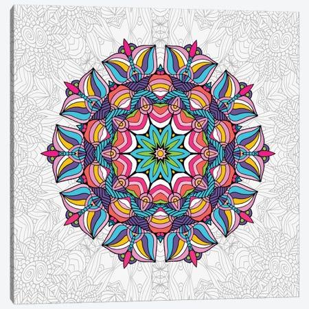 Art Love Passion - Mandala Canvas Print #ANG2} by Angelika Parker Canvas Print