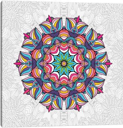 Art Love Passion - Mandala Canvas Art Print