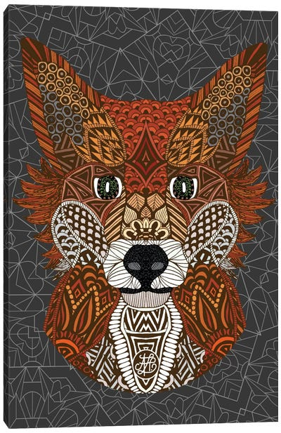 Fox Canvas Print #ANG30
