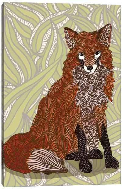 Foxy Lady Canvas Art Print