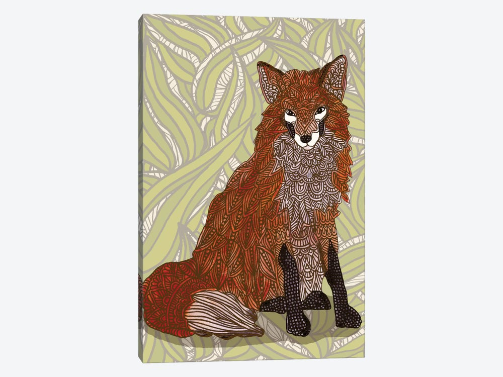 Foxy Lady by Angelika Parker 1-piece Canvas Wall Art