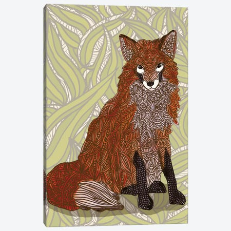 Foxy Lady Canvas Print #ANG31} by Angelika Parker Canvas Artwork