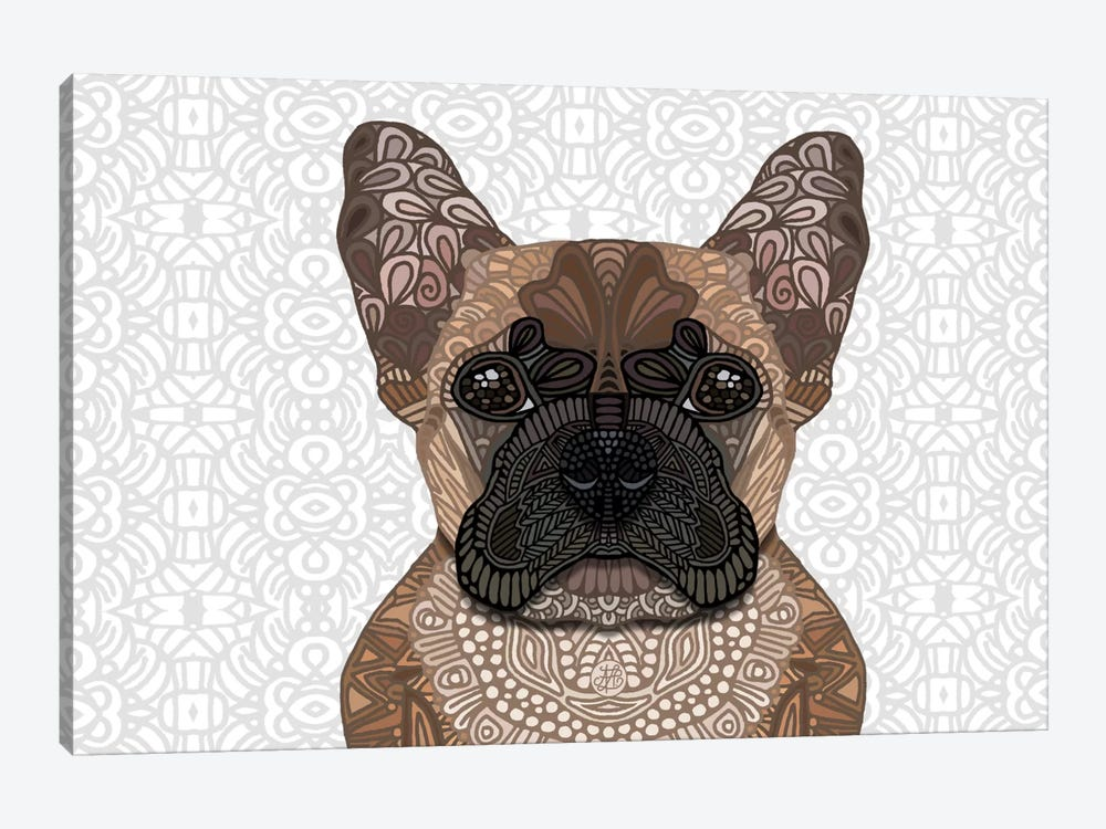 French Bulldog by Angelika Parker 1-piece Canvas Art Print