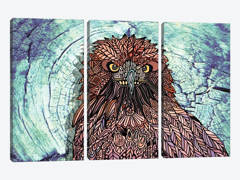 Golden Eagle by Angelika Parker 3-piece Art Print