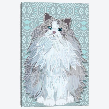 Aurora Ragdoll Canvas Print #ANG3} by Angelika Parker Canvas Art Print