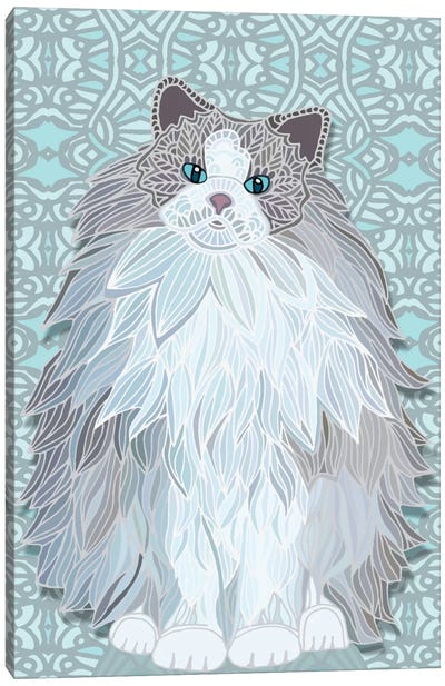 Aurora Ragdoll by Angelika Parker Canvas Art Print