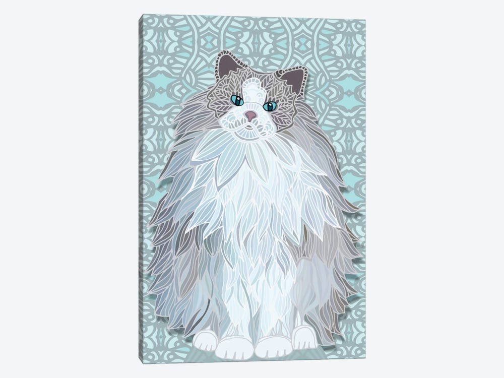 Aurora Ragdoll by Angelika Parker 1-piece Canvas Artwork