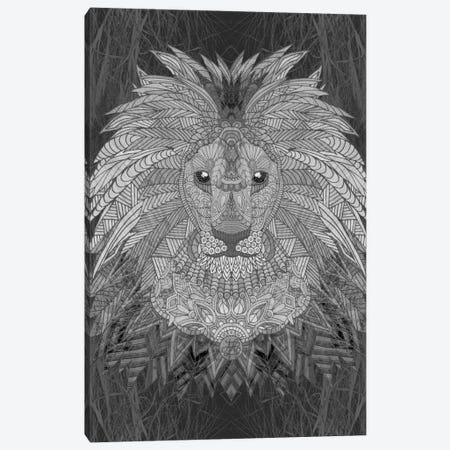 Great Lion Canvas Print #ANG40} by Angelika Parker Art Print