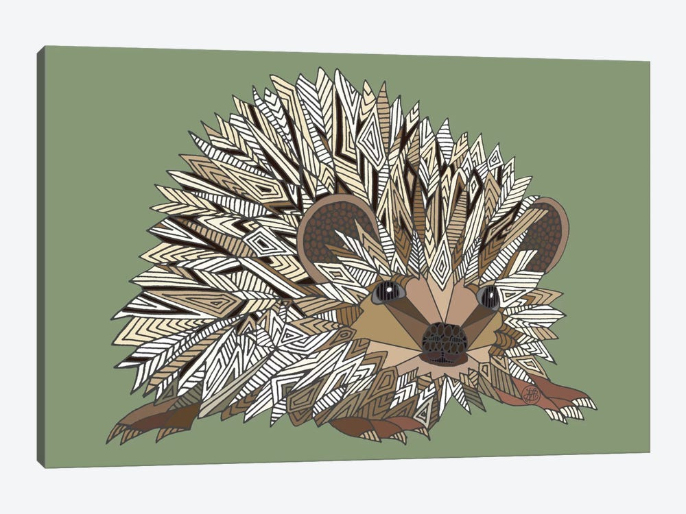 Igel by Angelika Parker 1-piece Canvas Art