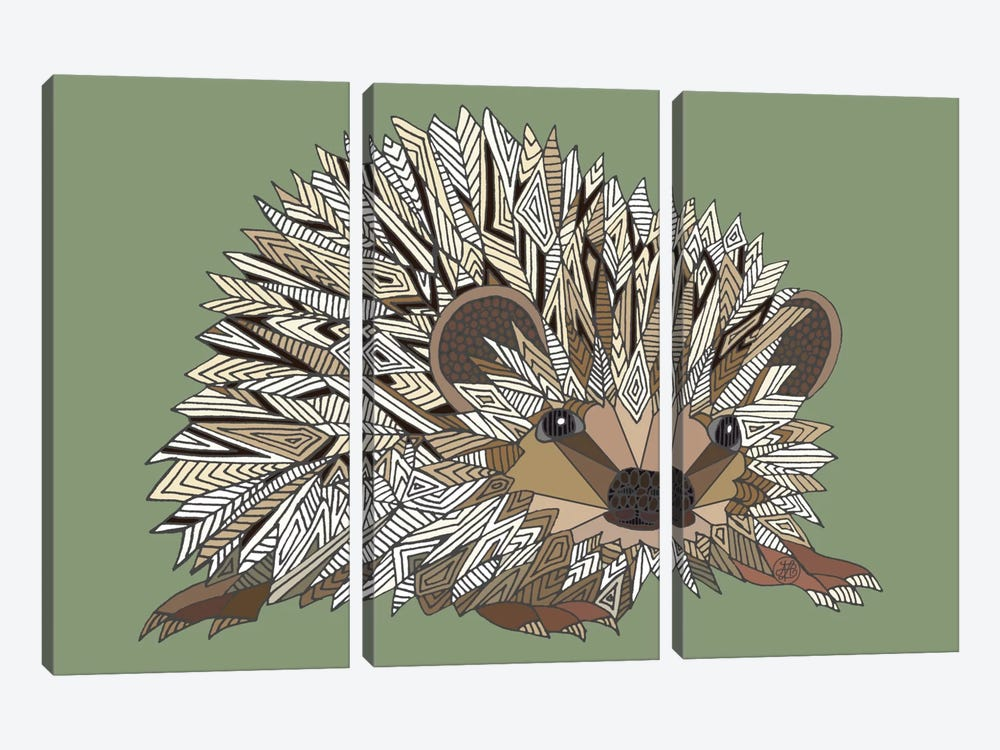 Igel by Angelika Parker 3-piece Canvas Art