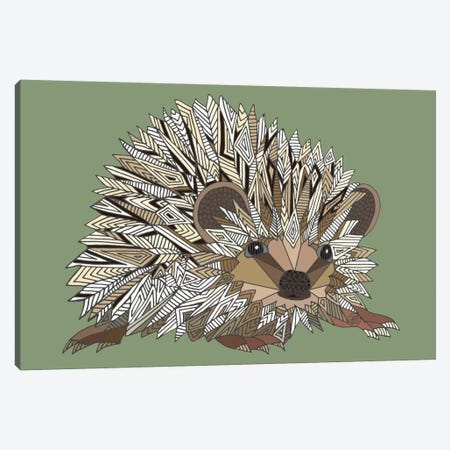 Igel Canvas Print #ANG48} by Angelika Parker Canvas Print