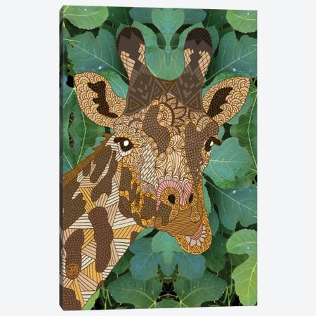 In The Jungle Canvas Print #ANG49} by Angelika Parker Canvas Print
