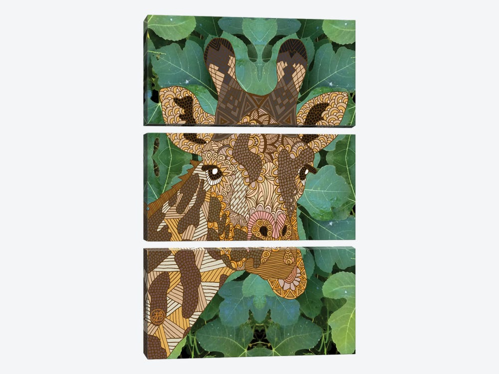 In The Jungle by Angelika Parker 3-piece Art Print