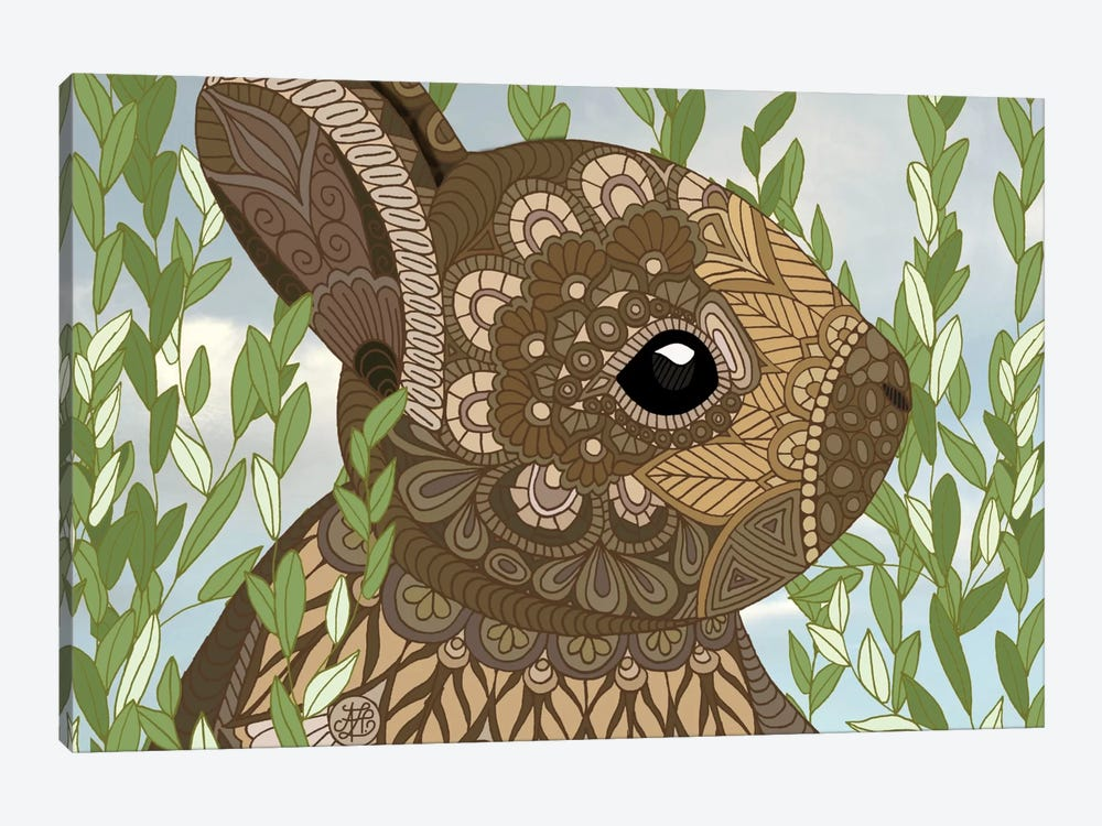 Baby Bunny by Angelika Parker 1-piece Canvas Print