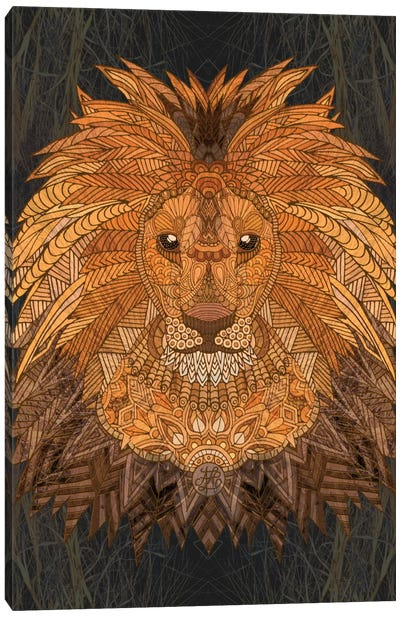 King Lion Canvas Art Print