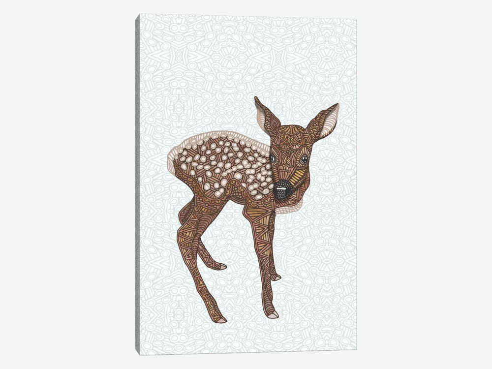 Little Fawn by Angelika Parker 1-piece Canvas Artwork