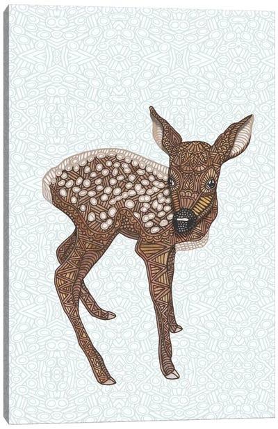 Little Fawn Canvas Art Print
