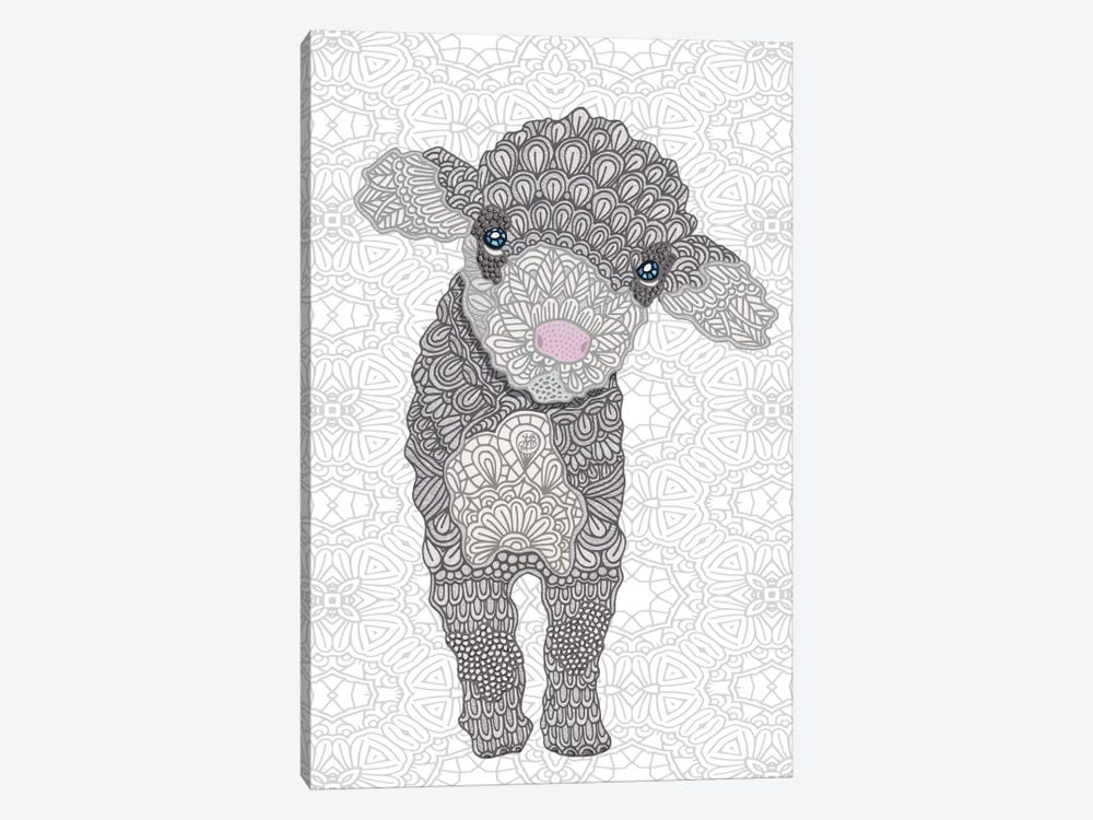 Little Lamb by Angelika Parker 1-piece Canvas Print