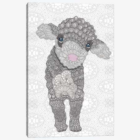 Little Lamb Canvas Print #ANG58} by Angelika Parker Canvas Wall Art