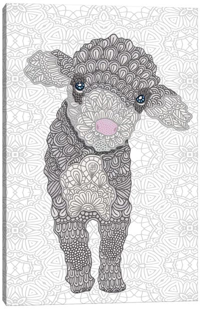 Little Lamb Canvas Art Print