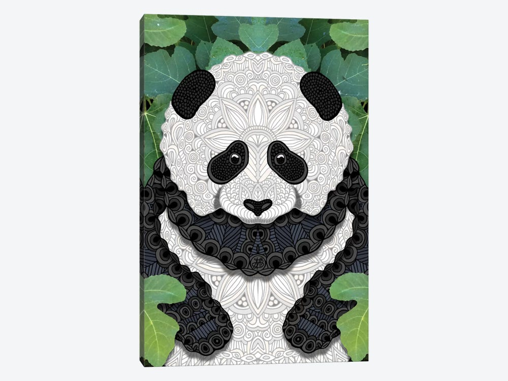 Little Panda by Angelika Parker 1-piece Canvas Wall Art