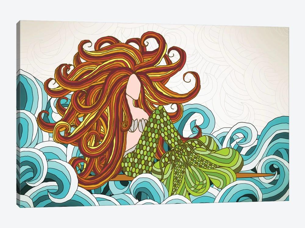 Mermaid Waves by Angelika Parker 1-piece Art Print