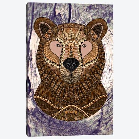 Ornate Brown Bear Canvas Print #ANG69} by Angelika Parker Canvas Print