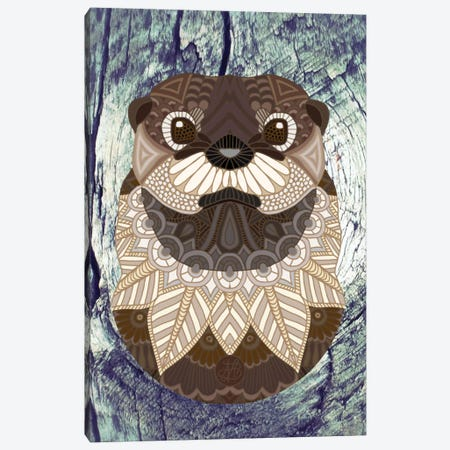 Ornate Otter Canvas Print #ANG74} by Angelika Parker Canvas Print