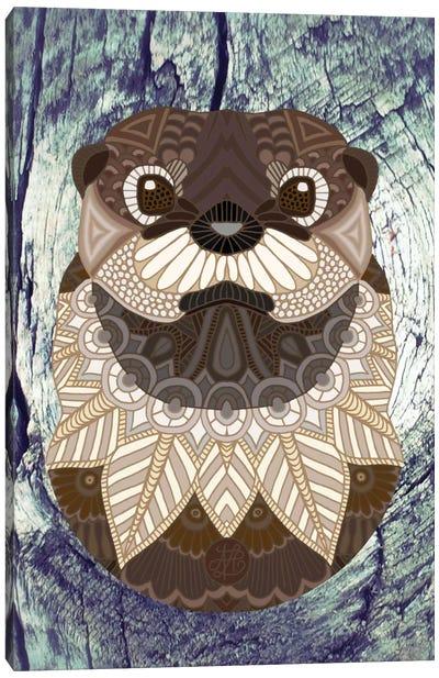 Ornate Otter Canvas Print #ANG74