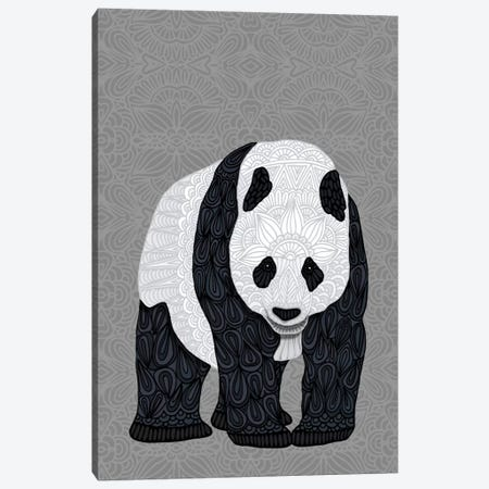 Papa Panda Canvas Print #ANG77} by Angelika Parker Canvas Print