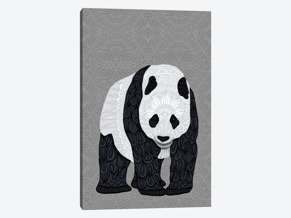 Papa Panda by Angelika Parker 1-piece Canvas Art