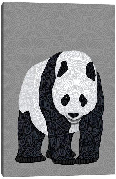 Papa Panda Canvas Art Print