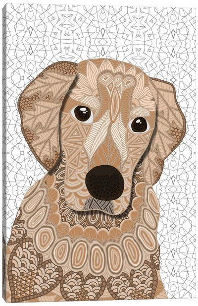 Retriever Canvas Art Print