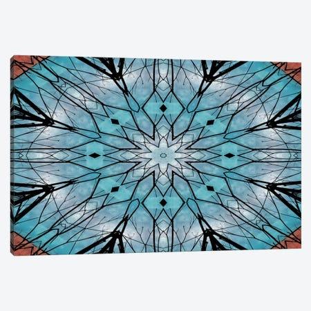 Snowflake Mandala Canvas Print #ANG88} by Angelika Parker Canvas Art Print