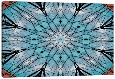 Snowflake Mandala Canvas Art Print