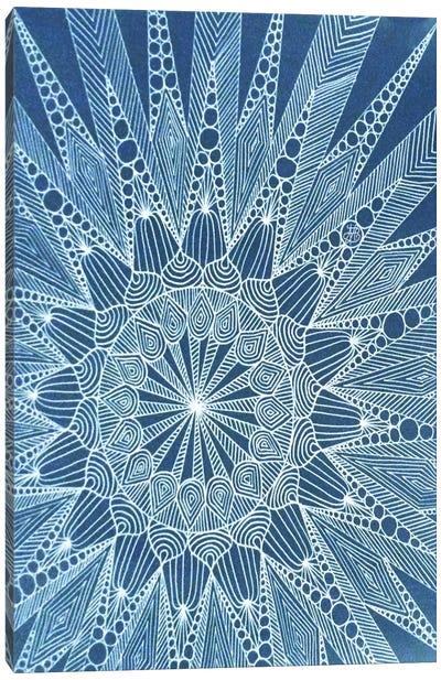 Snowtangle Canvas Print #ANG89