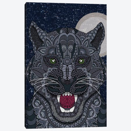 Black Panther Canvas Print #ANG8} by Angelika Parker Canvas Art Print