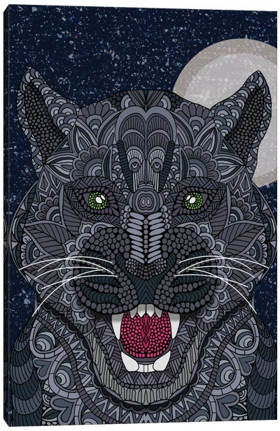 Black Panther Canvas Art Print