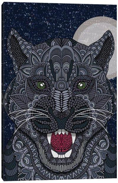 Black Panther Canvas Print #ANG8