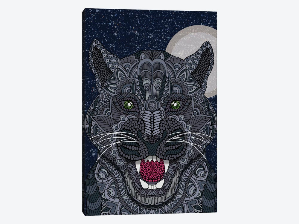Black Panther by Angelika Parker 1-piece Canvas Art Print