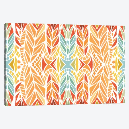 Summer Time 3-Piece Canvas #ANG93} by Angelika Parker Canvas Wall Art