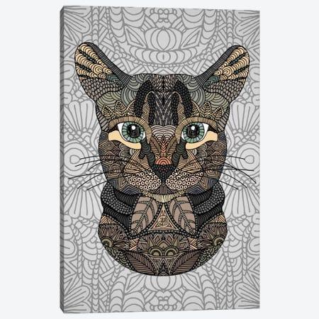 Tabby Cat Canvas Print #ANG95} by Angelika Parker Art Print