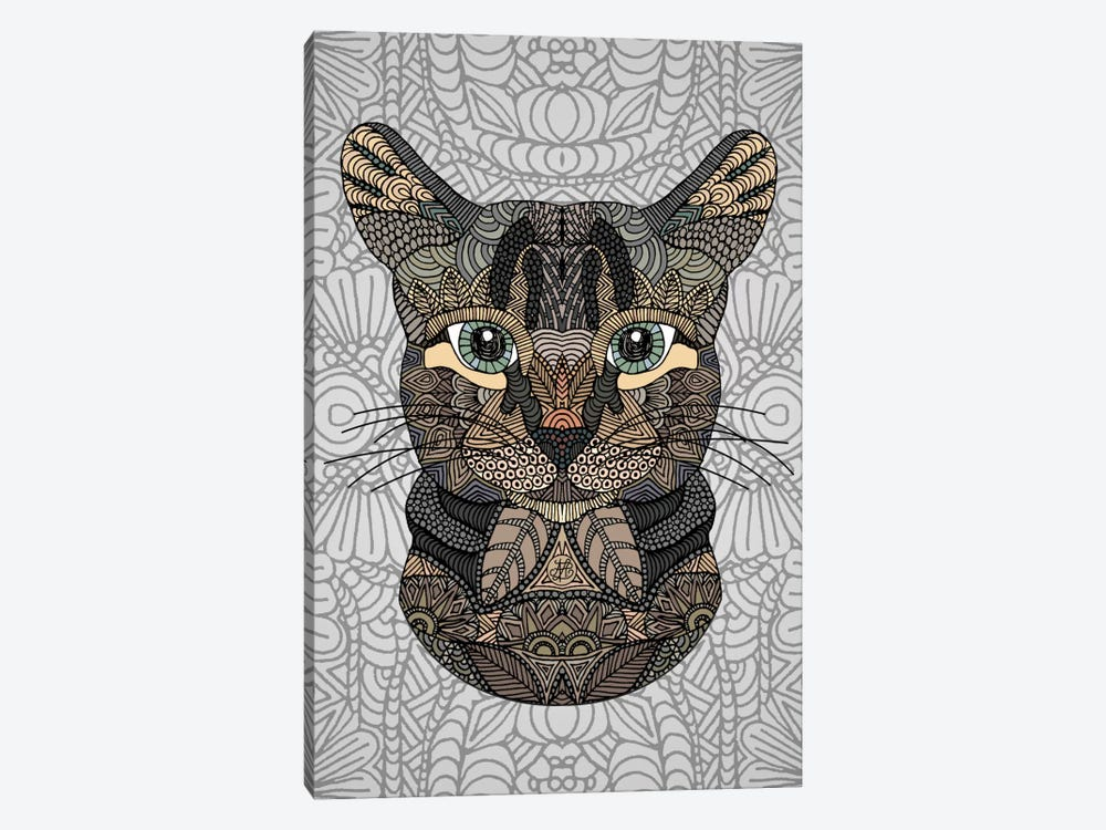 Tabby Cat by Angelika Parker 1-piece Canvas Wall Art