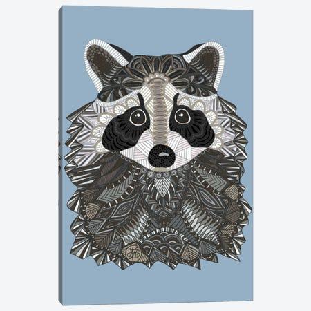 Tangled Raccoon Canvas Print #ANG96} by Angelika Parker Canvas Print