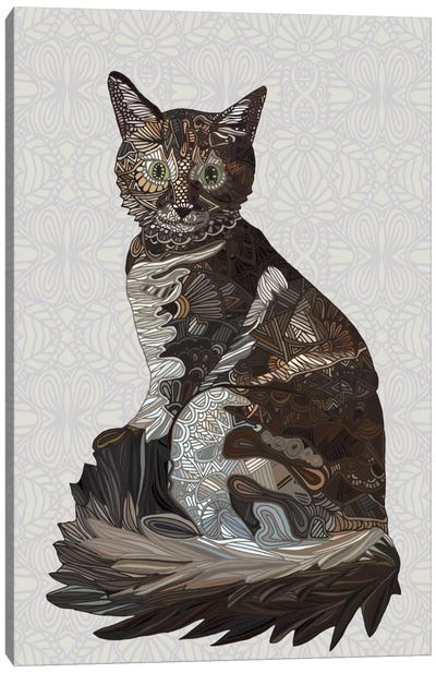 Tiger Princess Canvas Art Print